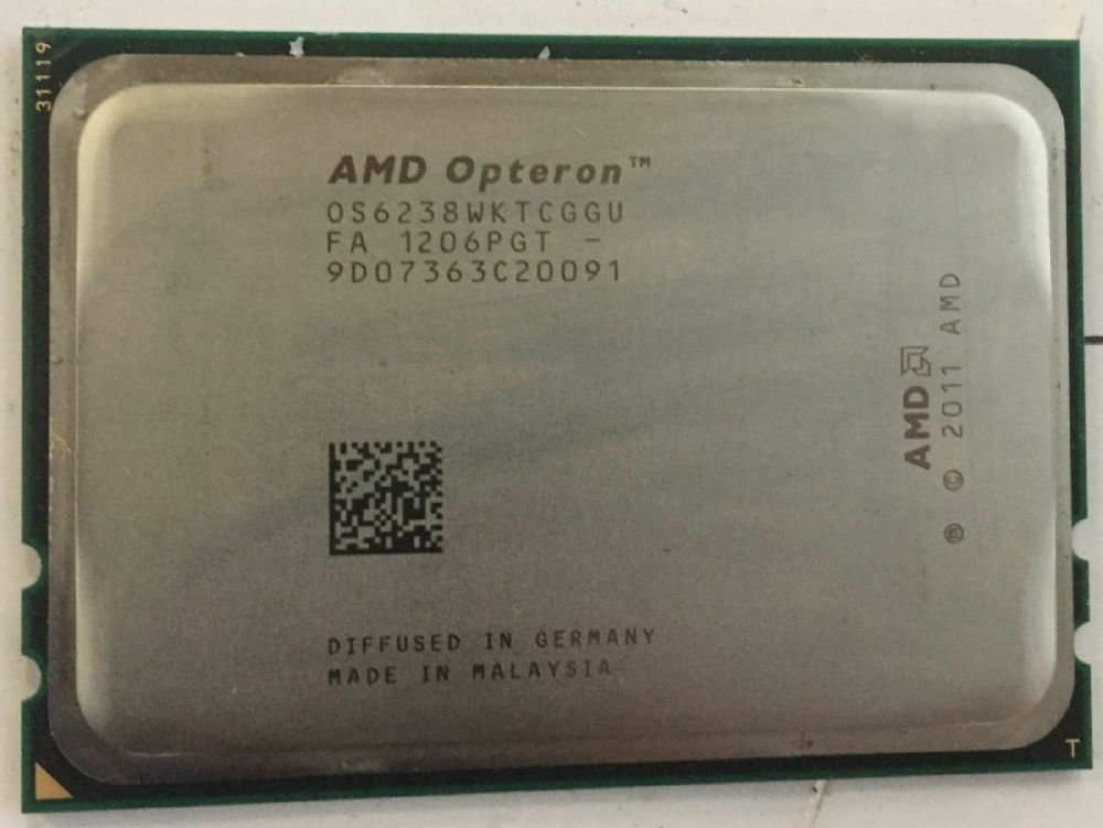 Amd Opteron 6238 12 Core 2 6ghz Socket G34 Cpu Processor Os6238wktcggu